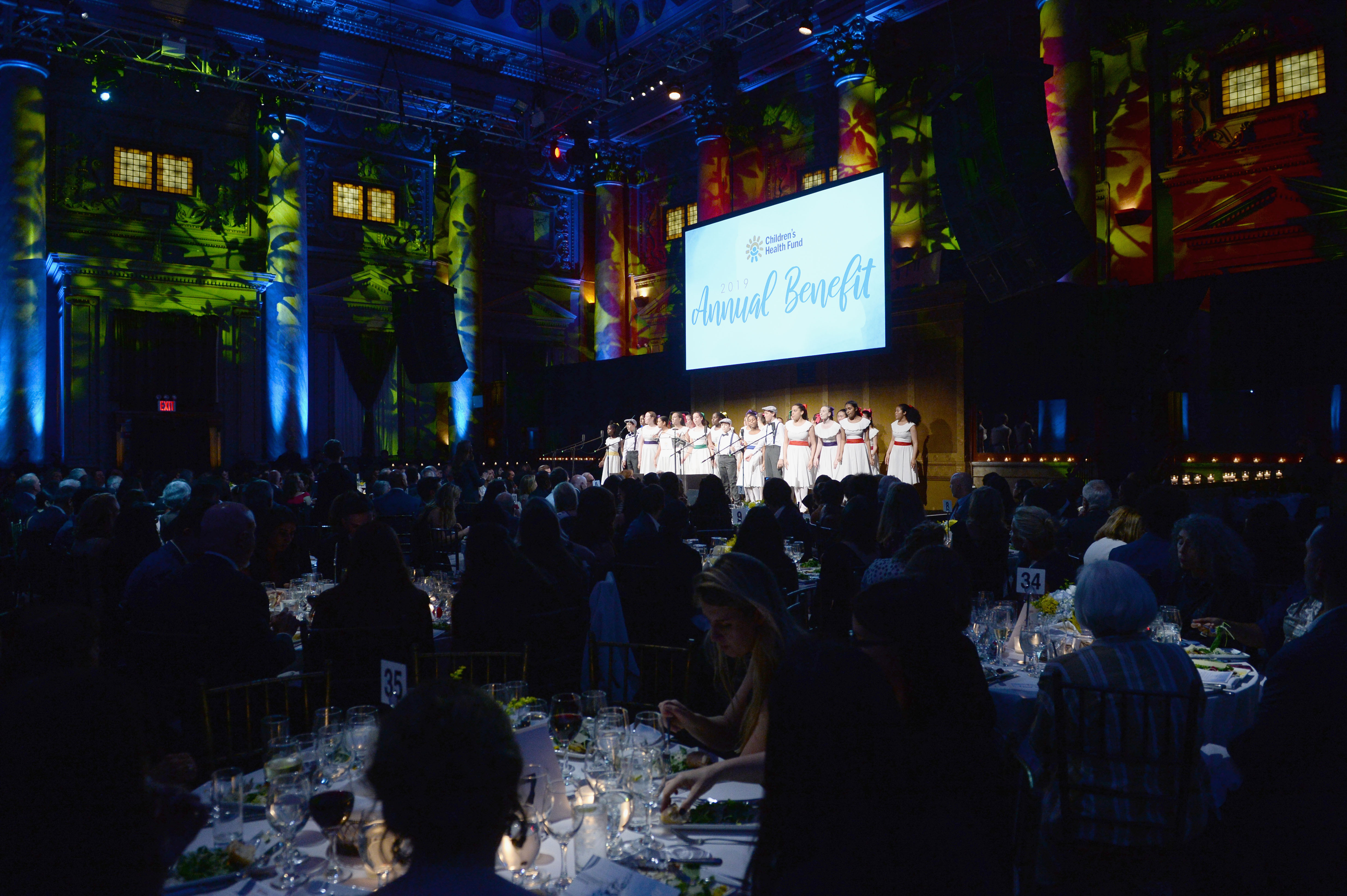 NEW YORK, NEW YORK - JUNE 05: Young People's Chorus of New York City performs during the Children's Health Fund Annual Benefit 2019 on June 05, 2019 in New York City. (Photo by Noam Galai/Getty Images for Children's Health Fund)